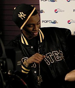 Soulja Boy at YouTube Live doing his}