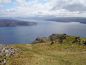 Sound of Mull - Sound of Mull from Ben Hiant