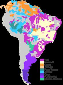 Carte Langue Amerique Du Sud.Langues En Amerique Du Sud Wikipedia