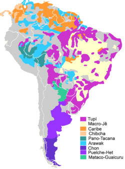 Languages of South America - Wikipedia