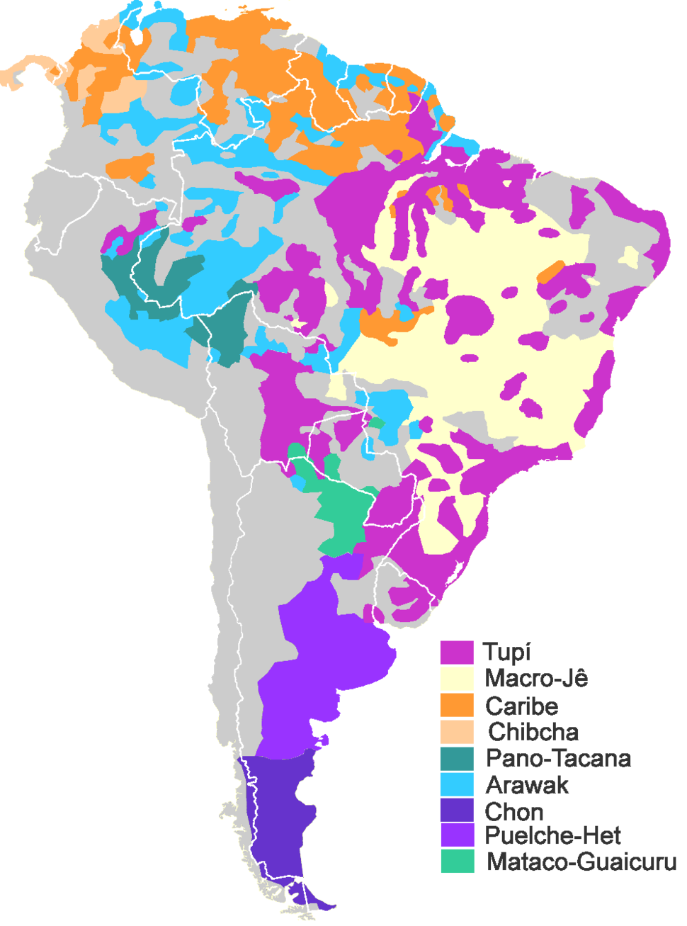 SouthAmerican families