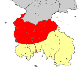 South Ossetia rayons and capital Dzau.PNG