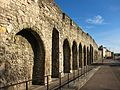 Southampton medieval walls Western Esplanade.jpg