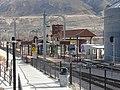 Southeast at the Draper Town Center station platform, Jan 15.jpg