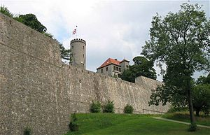 Sparrenberg Castle - Part of the Sparrenberg fortress with the Scherpentiner