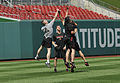 Spc. Sands 'Catching Up' with the Arizona Diamondbacks 130626-A-IL967-264.jpg