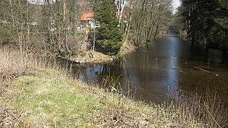 Oder (Harz) - Image: Sperrlutter Oder