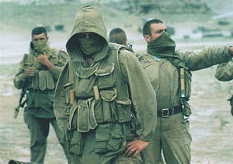 Spetsnaz - Spetsnaz forces during the 1999 Dagestan conflict.