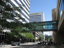 Skywalks in Downtown