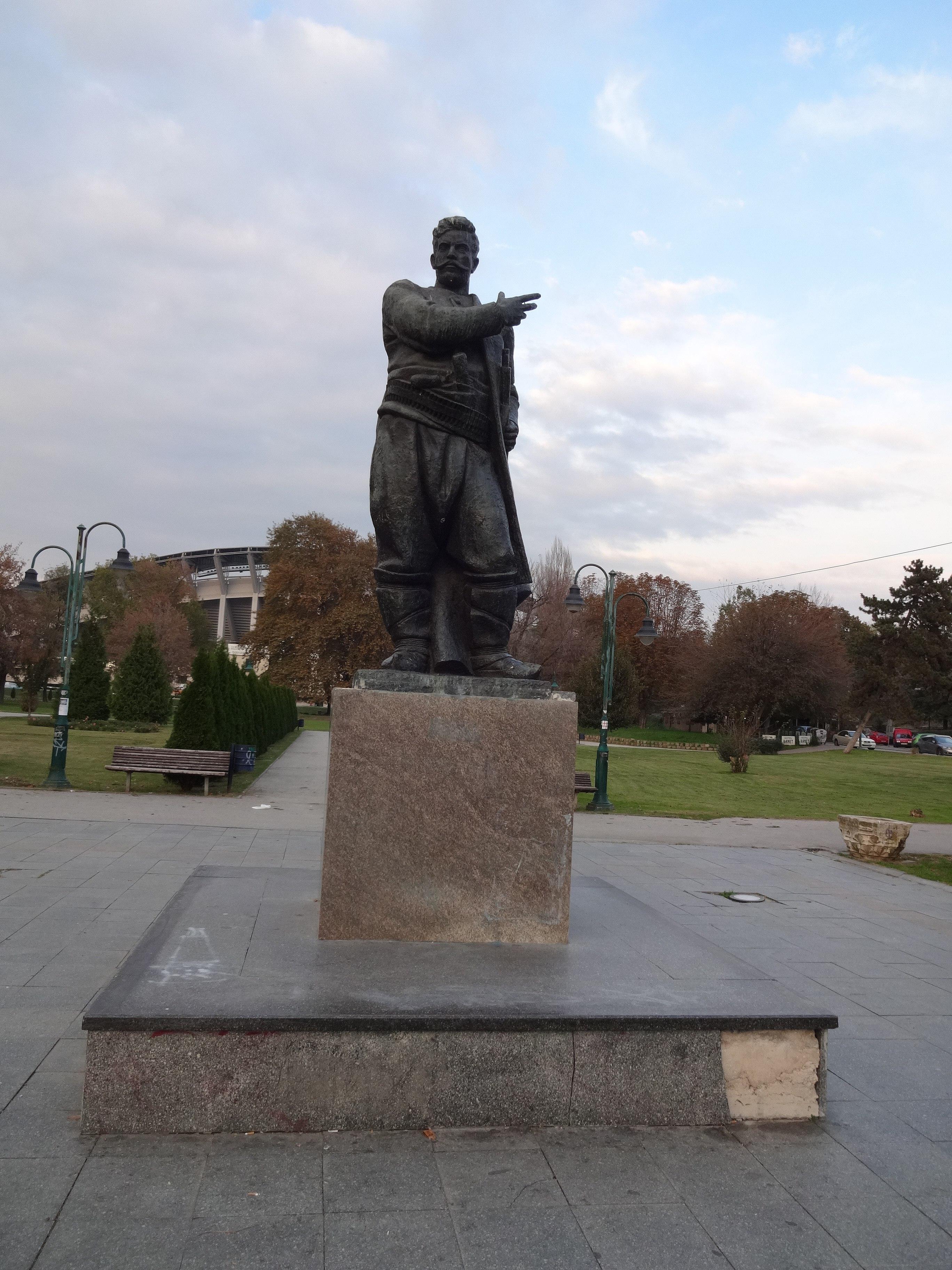 File Spomenik Na Goce Delcev Park 11 Jpg Wikimedia Commons