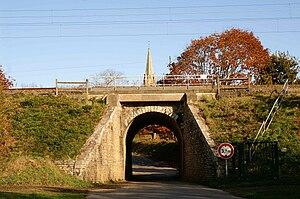 Saint-Jacut-les-Pins - The railway bridge