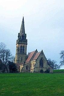 Dunstall Human settlement in England