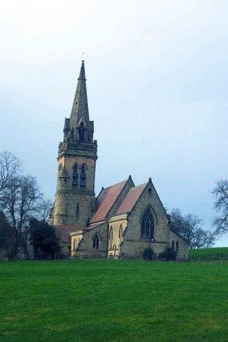 Dunstall - Image: St. Mary's Church, Dunstall geograph.org.uk 119400