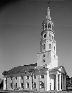 St Michaels Episcopal Church Charleston South Carolina