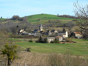 Le village de Saint-Christophe.