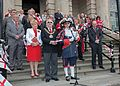 St George's day celebrations 2010 Ashton Tameside England.jpg