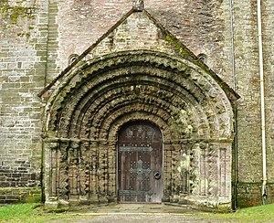 St German's Priory - West doorway