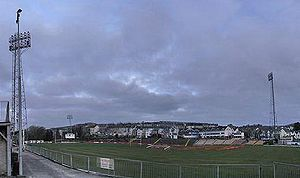 Der St Helens Rugby and Cricket Ground in Swansea
