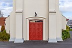 St John's Anglican Church - entrance, Christchurch, New Zealand.jpg
