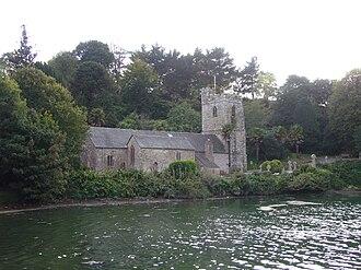 St Just in Roseland - St Just parish church