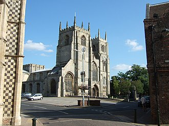 King's Lynn Minster - Image: St Margaret's Church, Kings Lynn geograph.org.uk 1447487