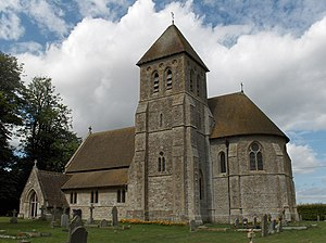 Fawley, Berkshire - Image: St Mary's, Fawley geograph.org.uk 228571