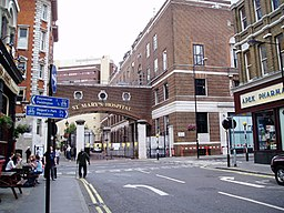 St Mary's Hospital i Paddington