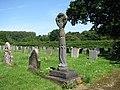 St Mary's church - memorial in churchyard - geograph.org.uk - 836827.jpg