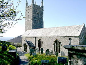 Morwenstow - Parish Church of St Morwenna and St John the Baptist, Morwenstow