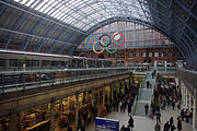St Pancras railway station MMB B9 373213
