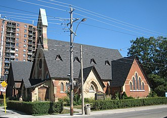 Henry Langley (architect) - Image: St Peter, Toronto