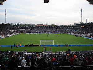 Das Stade Jacques-Chaban-Delmas in Bordeaux