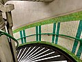Stairs down to Goodge Street Station 2021.jpg