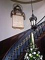 Stairway in St Philip's Cathedral, Birmingham.jpg