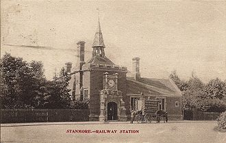 Stanmore - Stanmore Village railway station