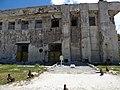 Starr-170616-0545-Solanum americanum-view Command Post and Cannon Memorial-Town Sand Island-Midway Atoll (36361010685).jpg