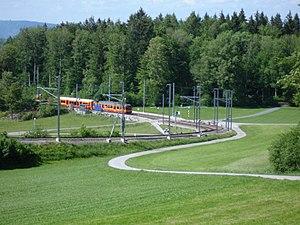 Ringlikon railway station - Image: Station Ringlikon panoramio
