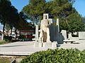 Statue of Atçalı Kel Mehmet Efe.JPG
