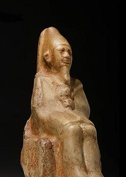 Statue of Ninetjer Rijksmuseum van Oudheden 02.jpg