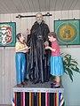 Statue of Saint Joseph Calasanctius in Chiautempan, Tlaxcala.jpg