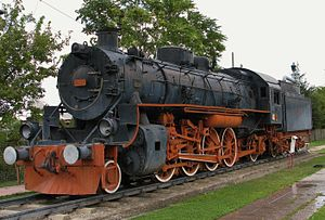 United States Army Transportation Corps class S200 - No. 46224 at TCDD Open Air Steam Locomotive Museum, Ankara, Turkey