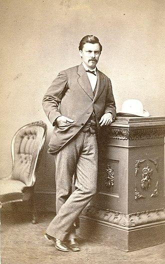 Stephen King (surveyor) - Image: Stephen King jun c 1865