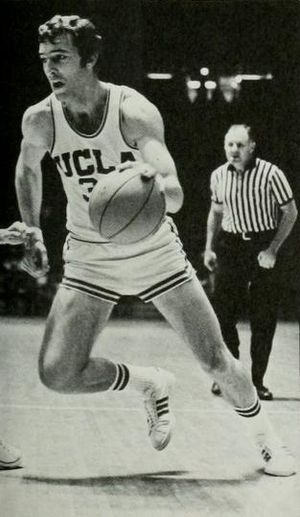 Steve Patterson (basketball) - Patterson from 1971 UCLA yearbook