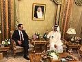Steven Mnuchin and Abdulaziz Bin Salman Al-Saud at 2019 FII.jpg
