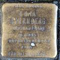 Stumbling block for Emma Sternberg (Friedrichstrasse 40)