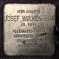 Stolperstein Dortmunder Str 6 (Moabi) Josef Wolkenheim.jpg