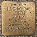 Stolperstein Edmund-Siemers-Allee 1 (Hans Konrad Leipelt) in Hamburg-Rotherbaum.JPG