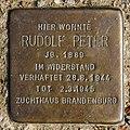 Stolperstein Gielower Str 32c (Britz) Rudolf Peter.jpg
