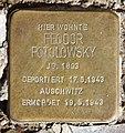 Stolperstein Taunusstr 11 (Fried) Feodor Potolowsky.jpg
