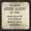 Stolperstein für Albert Gábor.jpg